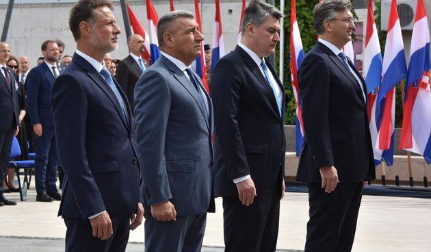 Državni vrh u Kninu