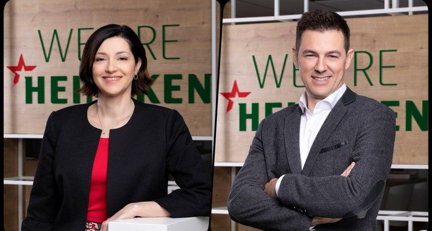 Heineken Hrvatska dobio nove direktore prodaje i marketinga - oboje dio menadžment tima