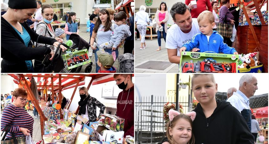 FOTO Na varaždinskom placu održana donacijska akcija 'Za Karla'