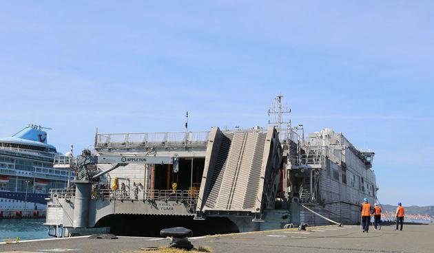 Vojna oprema, brod