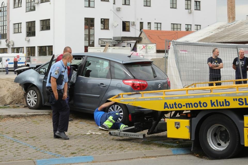 Neobična prometna nesreća