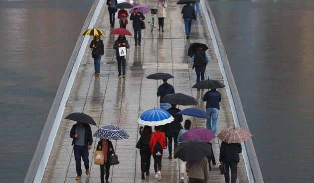 Kišno jutro u Zadru, 7. listopada 2020.