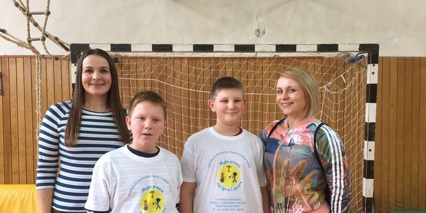 Učenici posebnog odjela OŠ Nedelišće na 6. sportskom natjecanju 'Naše pravo na sport'