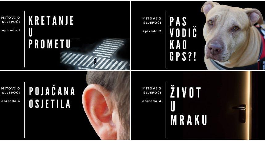 NOVI SERIJAL Mitovi o sljepoći povodom Međunarodnog dana bijelog štapa