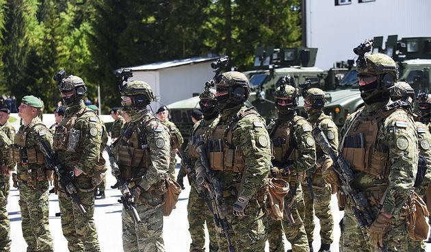 30. obljetnica osnutka Specijalnih postrojba Hrvatske vojske u Delnicama 18. svibnja 2021.