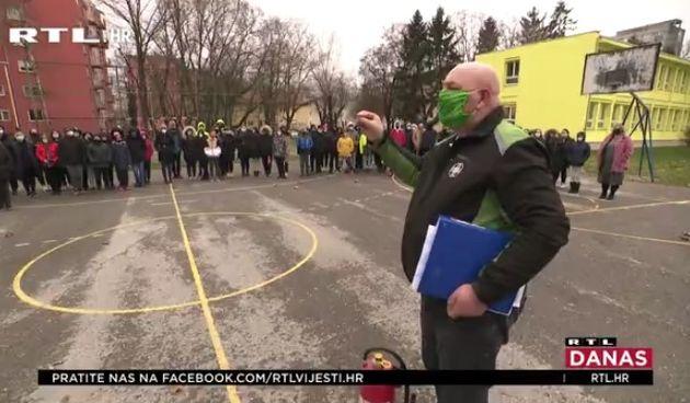 Osječki osnovnoškolci vježbali kako se ponašati u kriznim situacijama