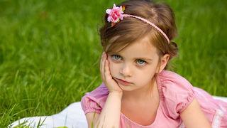 Dijete, djevojčica, priroda