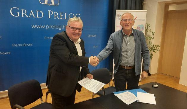 PRELOG Potpisan ugovor o izgradnji kanalizacije u ulicama Jug IV i Katarine Dolenec
