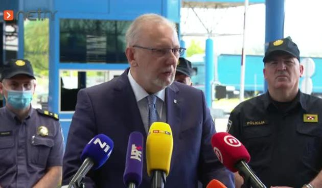 Ministar Božinović na Bregani o prelasku granice s Covid potvrdom (thumbnail)