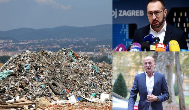 Zagreb, smeće, Pripuz, Tomašević
