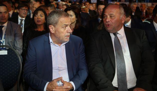 Kazimir Bačić i Milan Bandić
