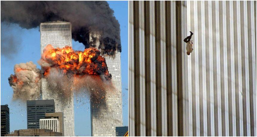 Što se krije iza najpotresnije fotografije napada 9/11: Tiha i uznemirujuća - tko je 'Čovjek koji pada'?