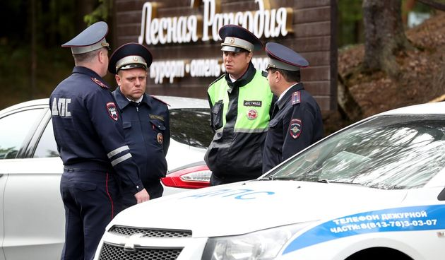 Rusija, policija