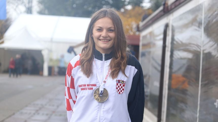 EUROPSKO PRVENSTVO Sjajan uspjeh: Lucija Lesjak osvojila broncu