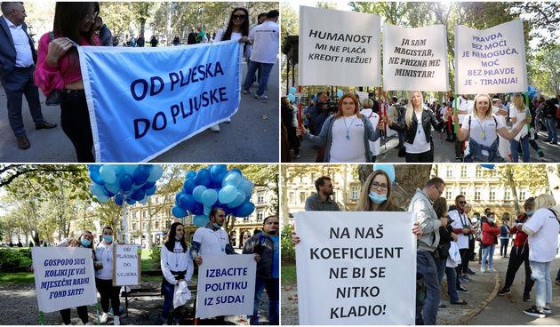Prosvjed medicinskih sestara i tehničara