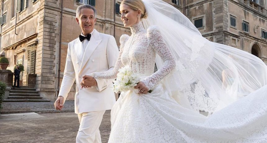 'Zločesta nećakinja' princeze Diane udala se za 32 godine starijeg milijunaša, a sada je pokazala vjenčanicu