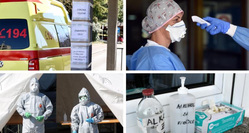 Dvije osobe preminule u KBC-u Split; u Vukovarsko-srijemskoj županiji 26 novozaraženih