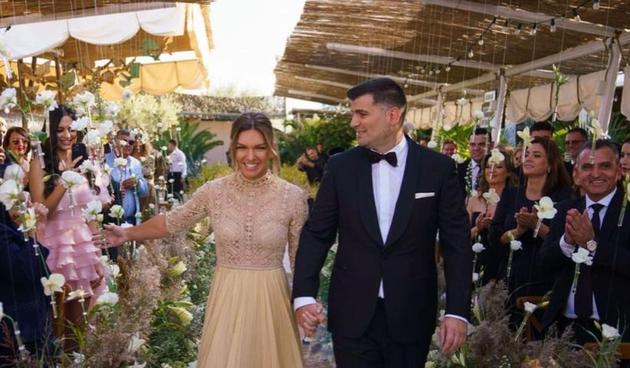 Simona Halep vjenčanje