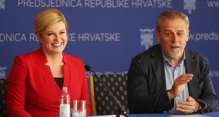 Grabar-Kitarović odgovorila kritičarima: 'Ako Bandića osude, nosit ću mu kolače u zatvor'