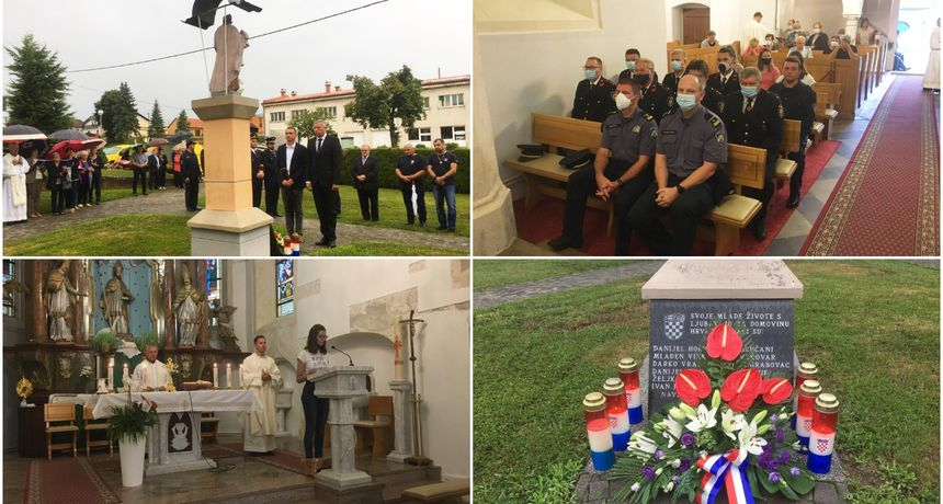 SVETI MARTIN NA MURI Sveta misa zahvalnica povodom Dana pobjede i domovinske zahvalnosti i Dana branitelja