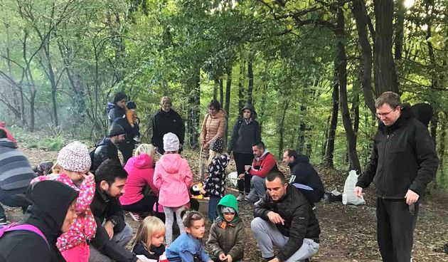 Djeca iz PO Maslačak s odgajateljima i roditeljima provela zajednički dan u prirodi