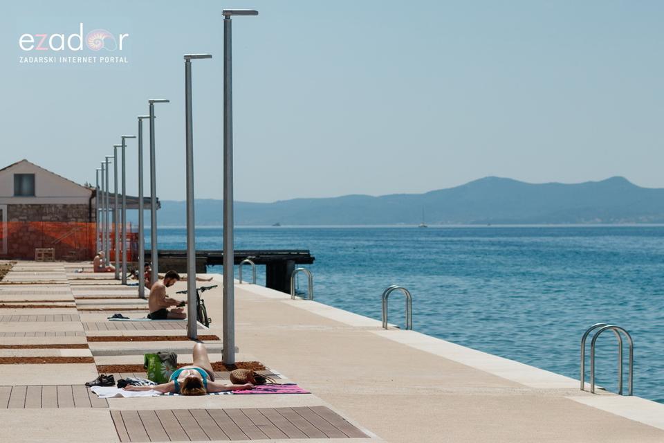 Plaža Kolovare - rekonstrukcija pri kraju