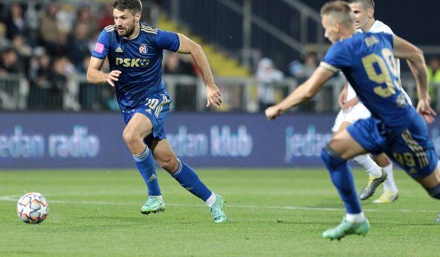 HNK Rijeka - GNK Dinamo 3-3, Bruno Petkovic.