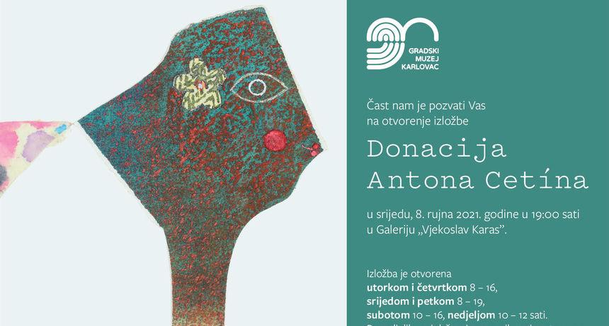 Od srijede nova vrijedna izložba u Galeriji Vjekoslav Karas - izloženo 30 djela iz donacije istaknutog grafičara Antona Cetina