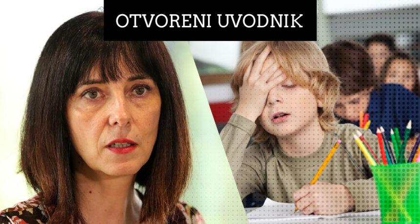 Bivša ministrica Blaženka Divjak za RTL.hr ističe neke od propusta nove pandemijske školske godine: 'Slagat će ih kao cjepanice'