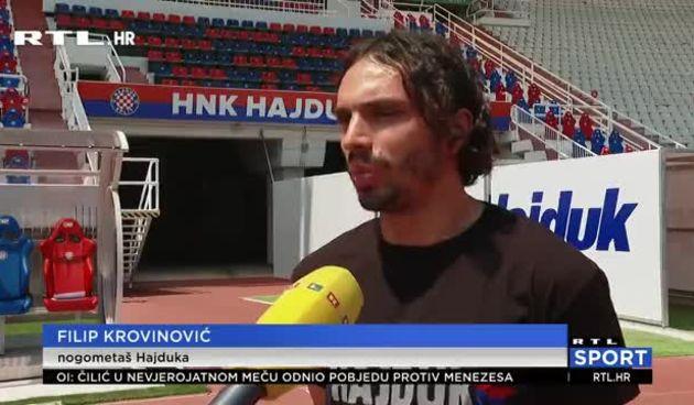 Krovinović podigao euforiju: 'Osjećaj u dresu Hajduka pred Torcidom je bio neopisiv' (thumbnail)