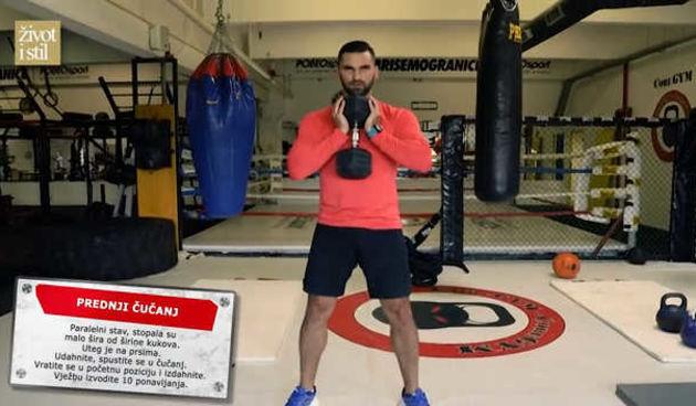 Ivan Brkljačić otkrio kako pravilno vježbati: Trening za jačanje nogu (thumbnail)