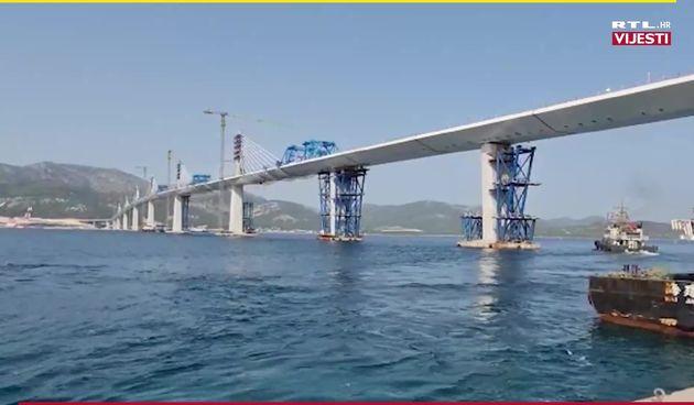 Još nekoliko sati dijeli nas od ceremonije otvorenja Pelješkog mosta (thumbnail)