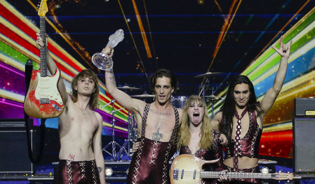 Italija Eurosong 2021