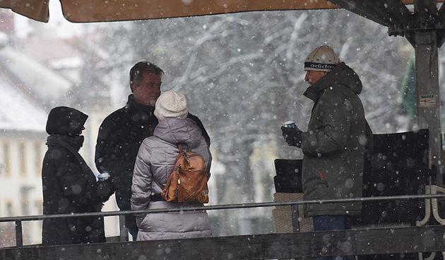 Karlovačkim (snježnim) ulicama 10. siječnja 2021.
