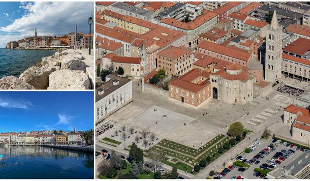 Zadar, Rovinj, Lošinj