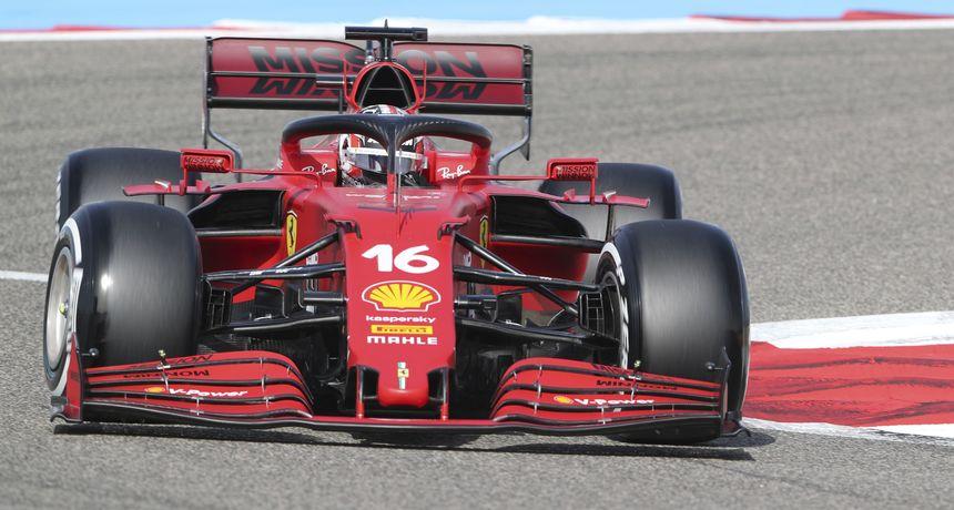 Leclerc zbog promjene motora starta s posljednje pozicije