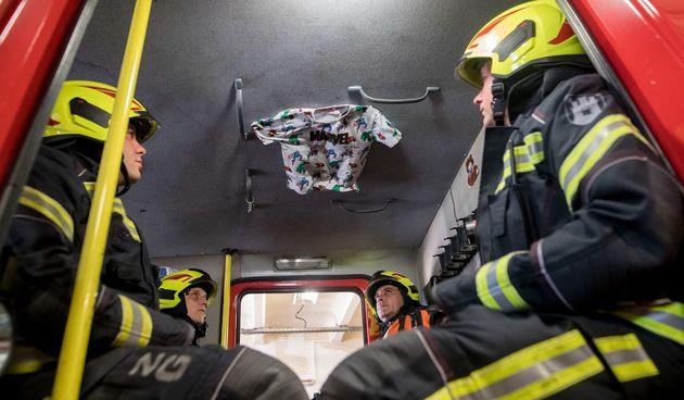 Vatrogasci posveta preminulom dječaku