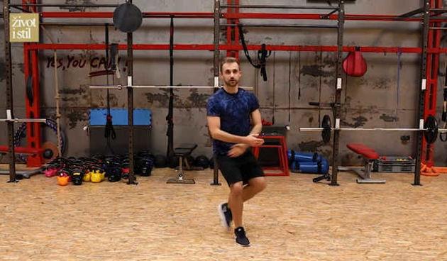 Dance aerobic: Zaplešite s trenerom Vedranom SpevanomPlesna dance aerobic rutina (thumbnail)