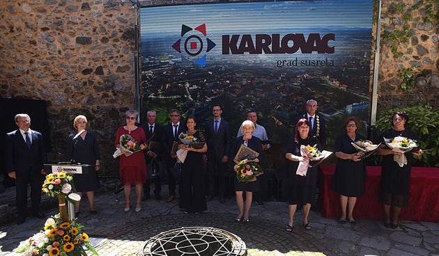 Svečana dodjela priznanja u povodu Dana Grada Karlovca 13.7.2020.