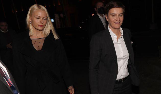 Ana Brnabić i Milica Đurđić