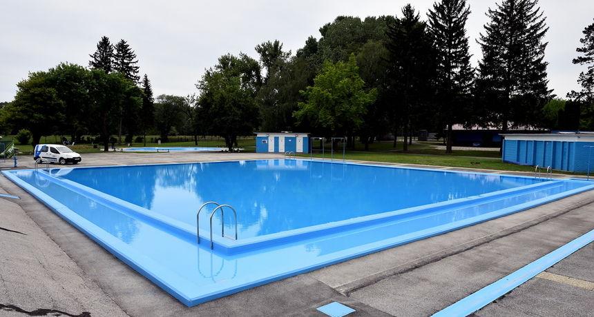 FOTO Pune se Dravski bazeni, prvi kupanac moguć 29. svibnja