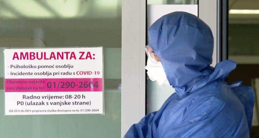 Iscrpljeni liječnici i medicinske sestre zagrebačke COVID bolnice: Za blagdane nećemo biti s obiteljima jer jedan dio građana ne želi nositi masku