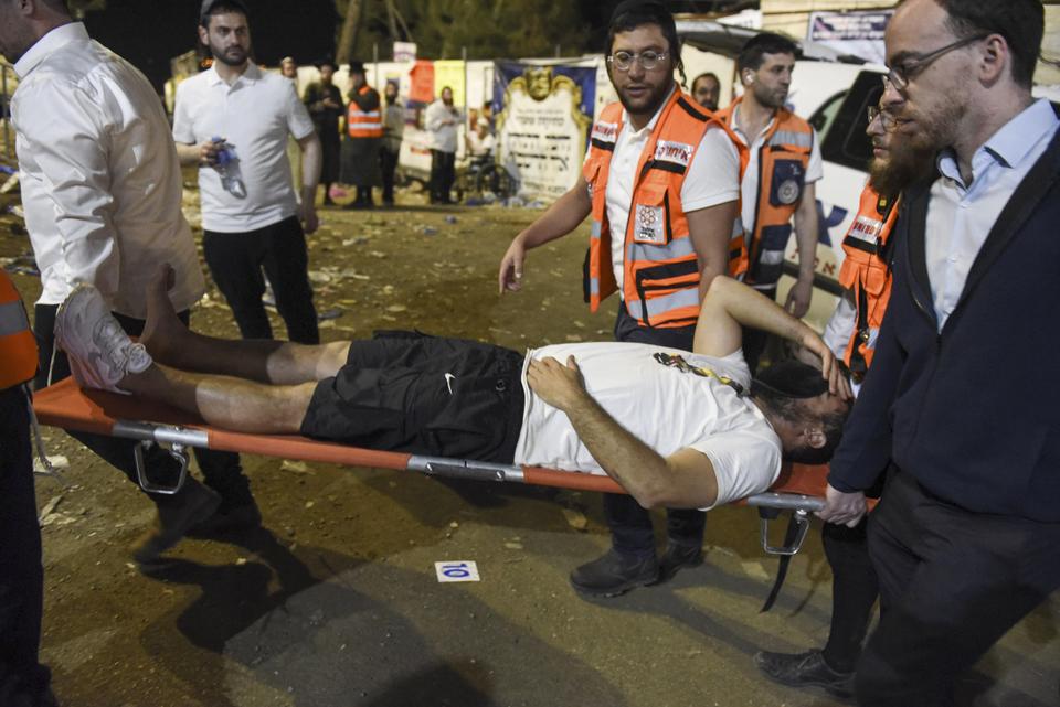 Posljedice stampeda na izraelskom vjerskom festivalu