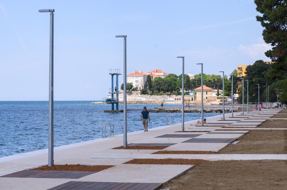 Radovi na rekonstrukciji dijela plaže Kolovare u završnoj fazi
