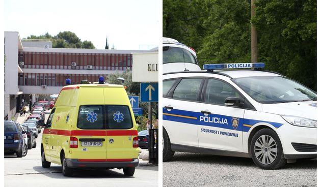 Bolnica Split, policija