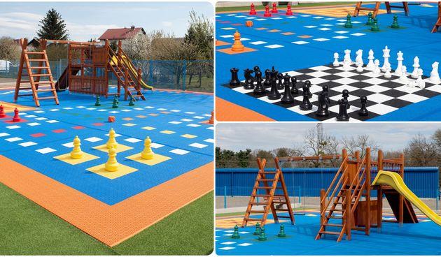 JEDINSTVENO U HRVATSKOJ U Jurkovićevoj ulici u Varaždinu napravljeno novo dječje igralište