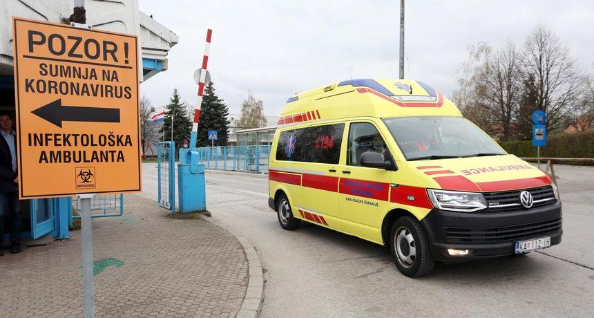 Zbog pritiska Covid pacijenata: Karlovačka bolnica radit će od ponedjeljka samo za hitne i onkološke pacijente