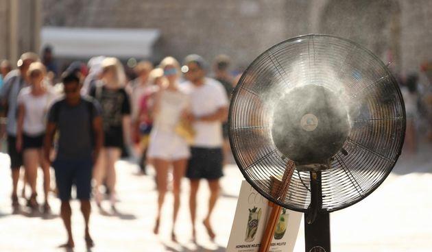vrućina u Dubrovniku