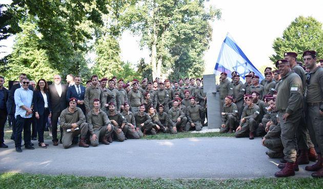 Hrvatski i izraelski vojnici u Čakovcu