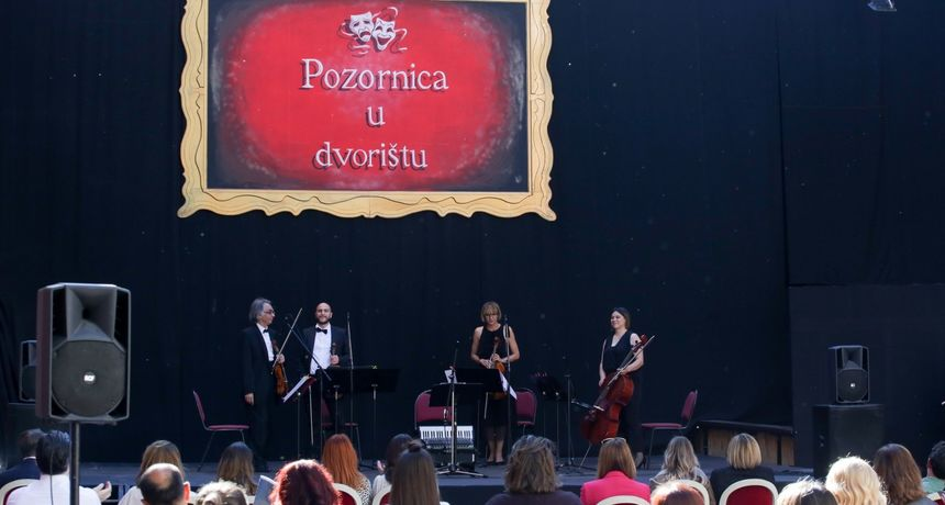 Premijerni ciklus COVID-19: Održan prvi koncert gudačkog kvarteta osječkog HNK